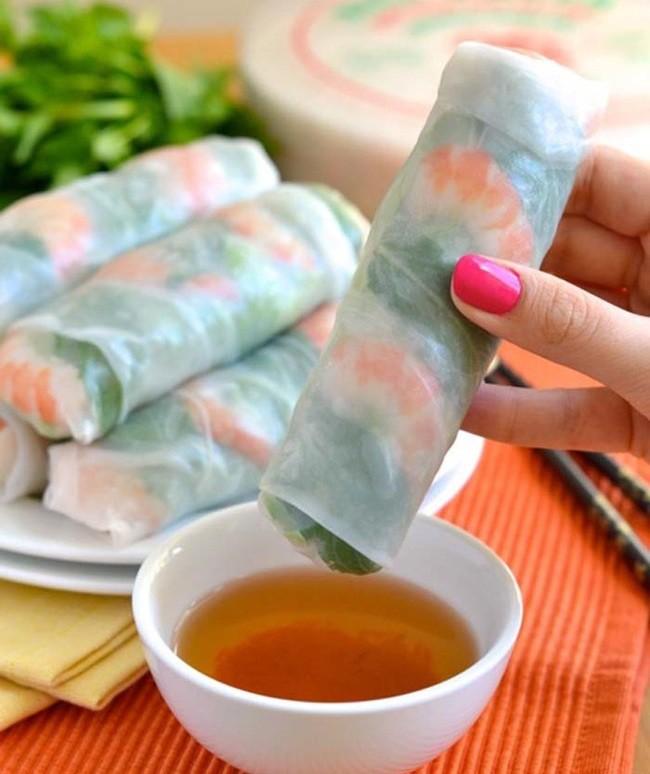 Вьетнамские роллы еда, закуска, полезно