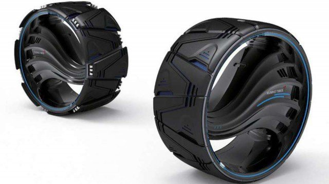 Разработаны безвоздушные всепогодные шины