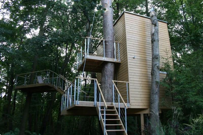 11. Дом на дереве дерево, здание