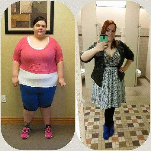 Из толстушек в красавицы 17