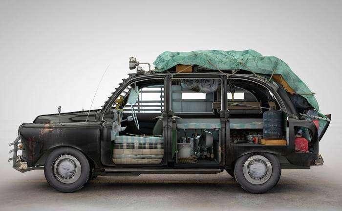 Автомобили для зомби-апокалипсиса (7 фото)