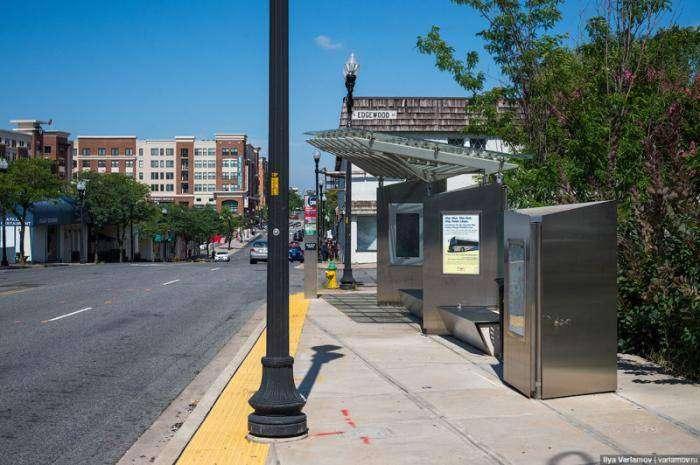 Автобусная остановка в США стоимостью 1 миллион долларов (6 фото)