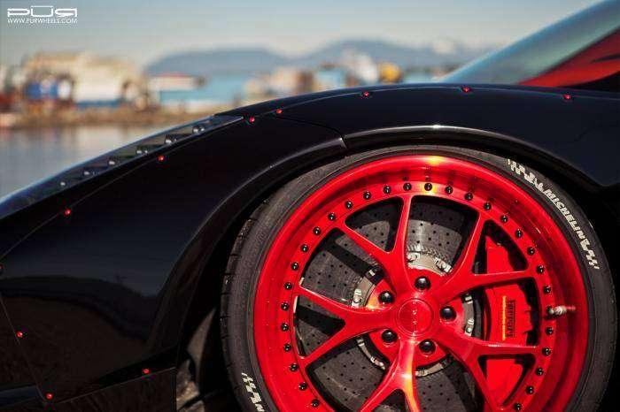 Кабриолет Ferrari 458 в японском стиле (10 фото)