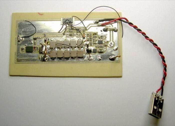 Как один электронщик изготовил «флешку мести» (5 фото)