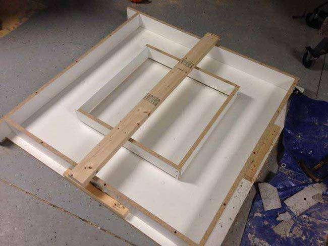 Как превратить бетон в потрясный журнальный столик (13 фото)