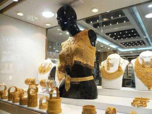 Золотой базар в центре Дубая (8 фото)