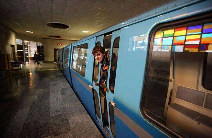 Абхазское метро (17 фото)