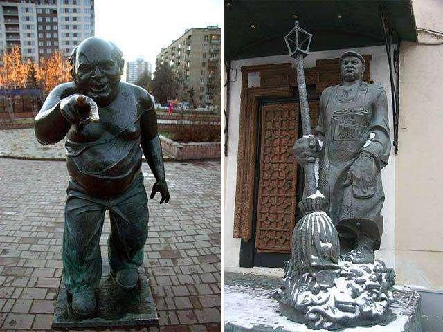 Необычные скульптуры - свежая подборка (49 фото)