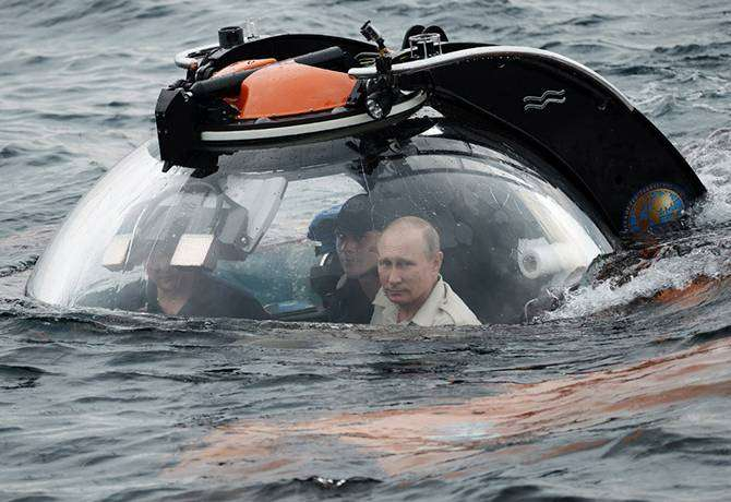 Путин и батискаф: технические подробности (15 фото)