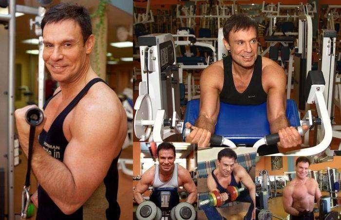 59-летний юморист Ефим Шифрин показал атлетическую фигуру (5 фото)