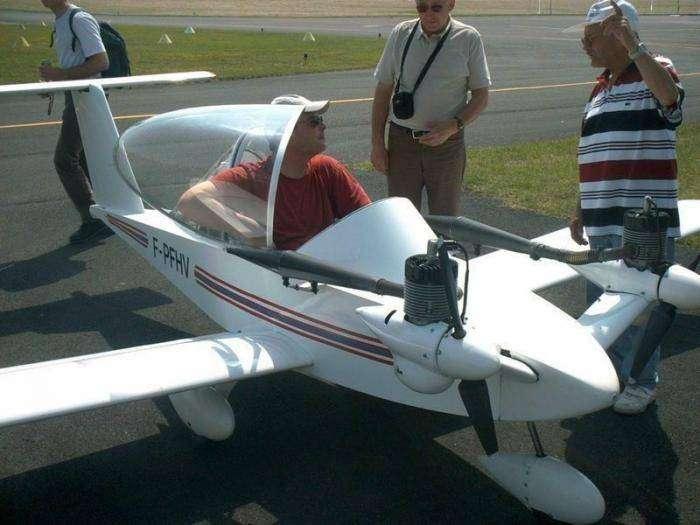 Личный самолет CriCri (17 фото)
