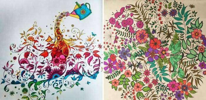 Раскраски для взрослых (15 фото)