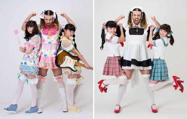 Ladybeard - новая эксцентричная звезда Японии (13 фото)