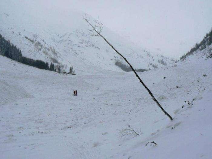 Сход лавины (18 фото)