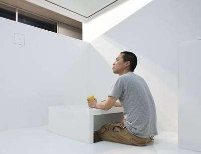Японская концептуальная квартира (24 фото)