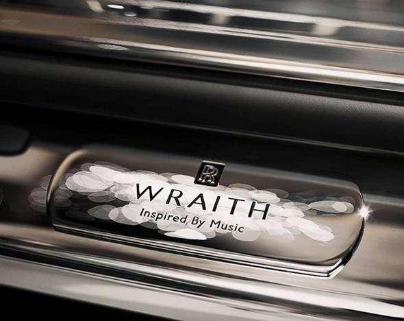 Rolls-Royce выпустил спецверсию Wraith для меломанов