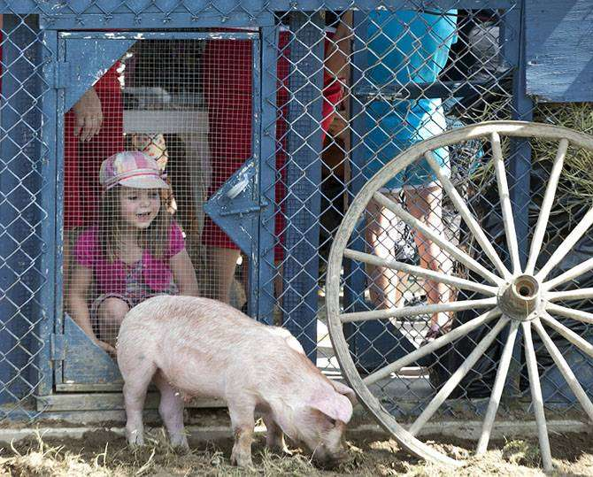 Свинский фестиваль в Квебеке