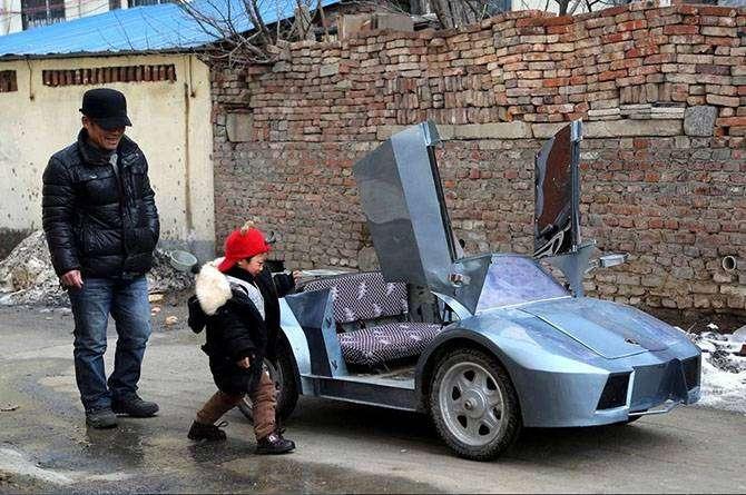Парад китайских самоделкиных со своими детищами