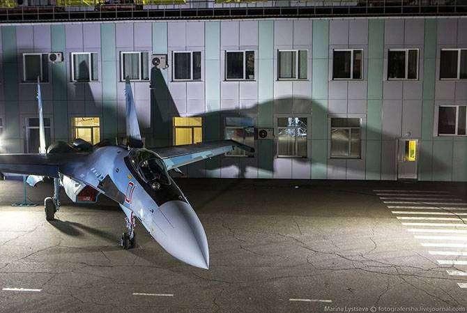 Как производят истребители Су-35