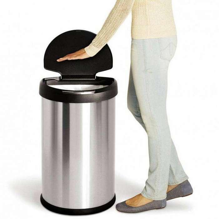 19. Сенсорное мусорное ведро гаджет, кухня