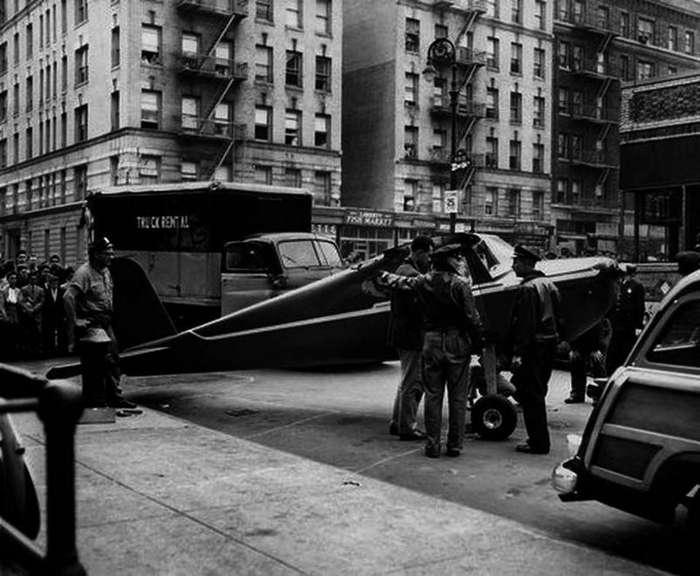 5. В центре Манхэттена дважды приземлялся самолёт интересные факты, правда, прикол, факты
