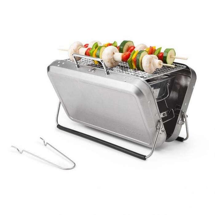 11. Портативный гриль, который позволяет устроить пикник где угодно гаджет, кухня