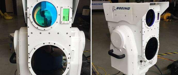 «Боинг» создал компактный боевой лазер для борьбы с дронами
