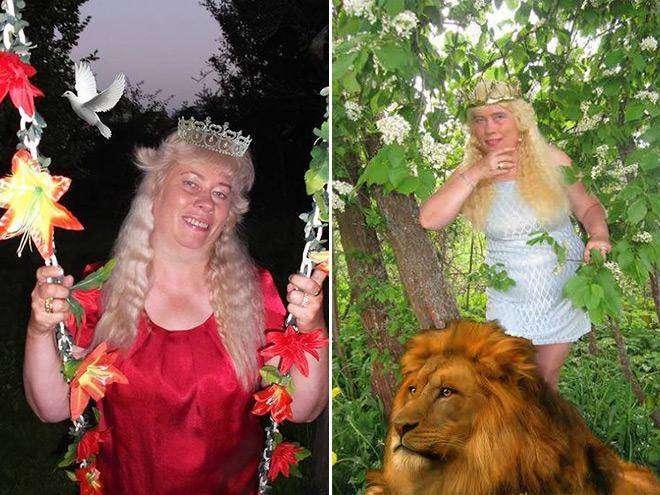 Богиня Фотошопа: женщина поразила пользователей Facebook  своими фотографиями