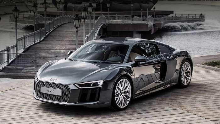 Второе поколение купе Audi R8 добралось до России