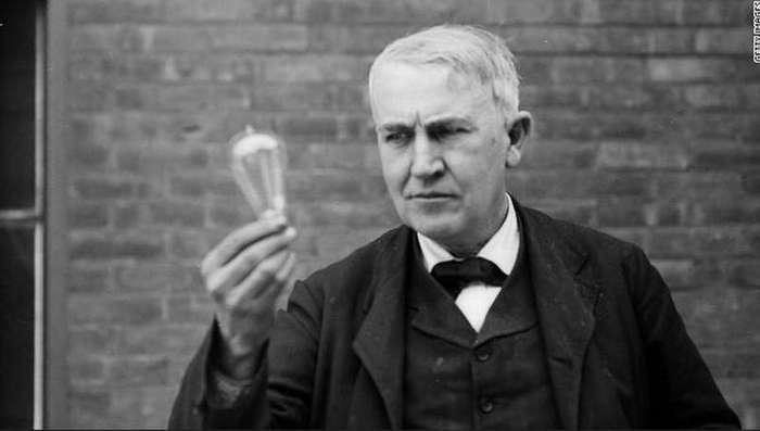 23. Томас Эдисон боялся темноты интересные факты, правда, прикол, факты