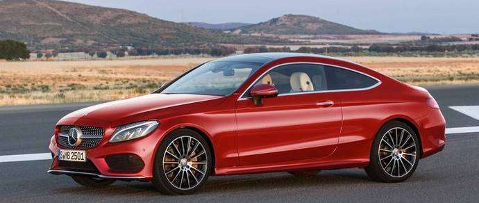Немцы официально рассекретили Mercedes C-Class Coupe