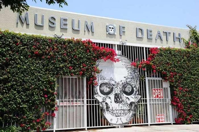 7. Музей смерти в Лос-Анджелесе катастрофы, страшные места, туризм, тюрьмы, убийцы, черный туризм