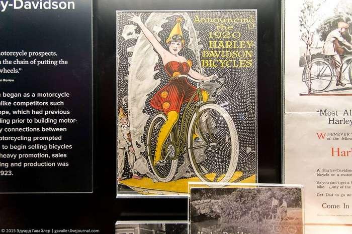 История Harley-Davidson в фотографиях
