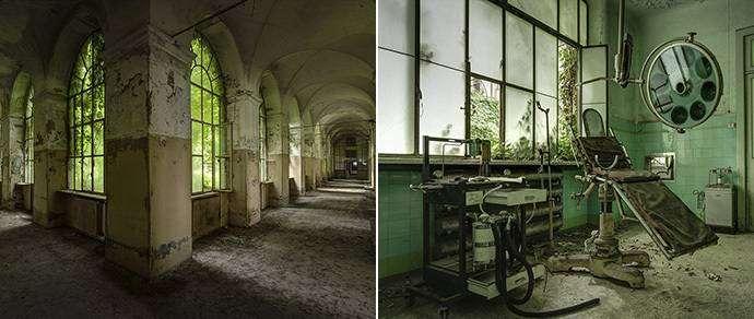 Фотофакт: как выглядят заброшенные итальянские психиатрические лечебницы