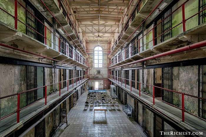 6. Тюрьма штата Миссури, США катастрофы, страшные места, туризм, тюрьмы, убийцы, черный туризм