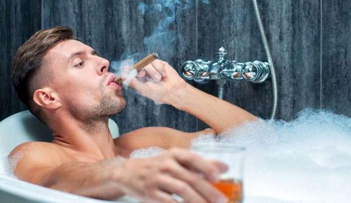 Что должно быть в ванной настоящего джентльмена ванна, мужчины