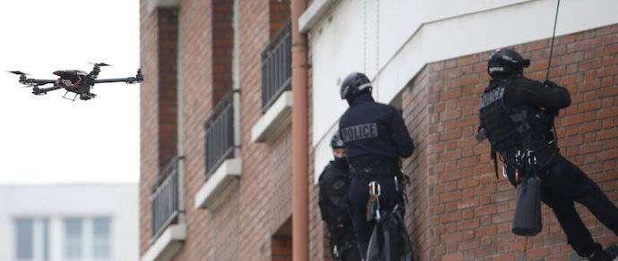 Американская полиция получит вооруженные дроны