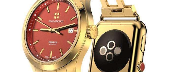 Швейцарцы выпустят комбинированные часы с Apple Watch вместо застежки