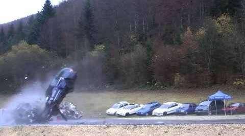 Краштесты на скорости 200 км/ч