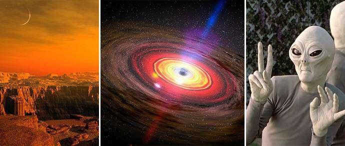 Топ астрономических мифов: от марсианского сфинкса до черных дыр-«пылесосов»