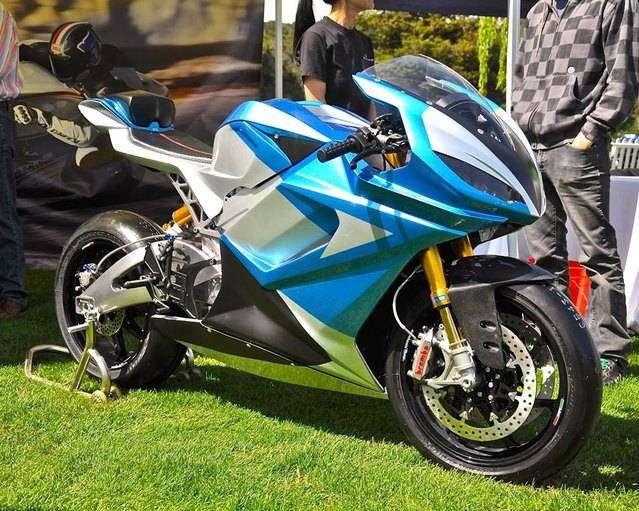 Фото 4 - 5 самых заметных серийных электрических мотоциклов