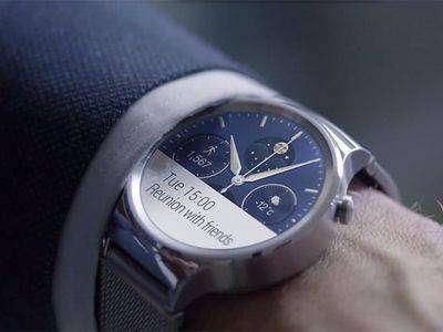 Huawei Watch станут первыми смарт-часами на Android Wear с поддержкой iOS