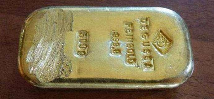 Немецкая купальщица нашла в озере полукилограммовый золотой слиток