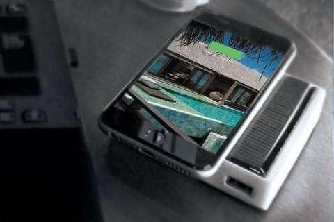 Внешний аккумулятор Pocket Sun заряжается от солнца, движения и тепла