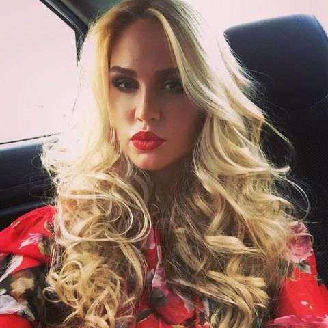 """Мария Погребняк - супруга Павла Погребняка, нападающего московского """"Динамо"""""""