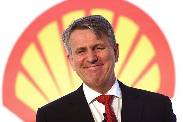CEO Royal Dutch Shell  Бен ван Берден