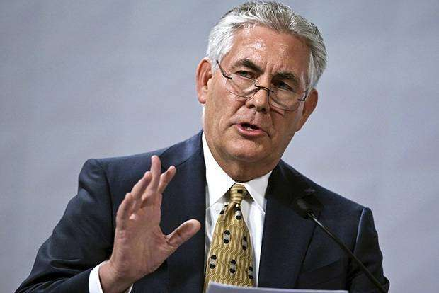CEO ExxonMobil Рекс Тиллерсон