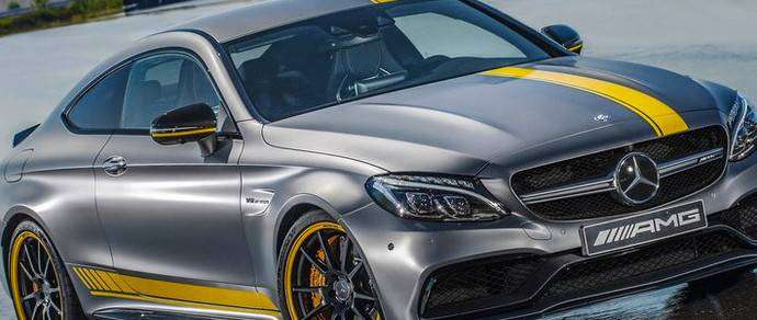 Mercedes-AMG C63 Coupe получил лимитированную версию Edition 1