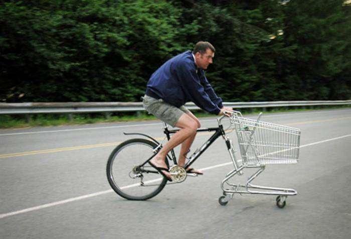 Отличное транспортное средство для поездок на рынок.