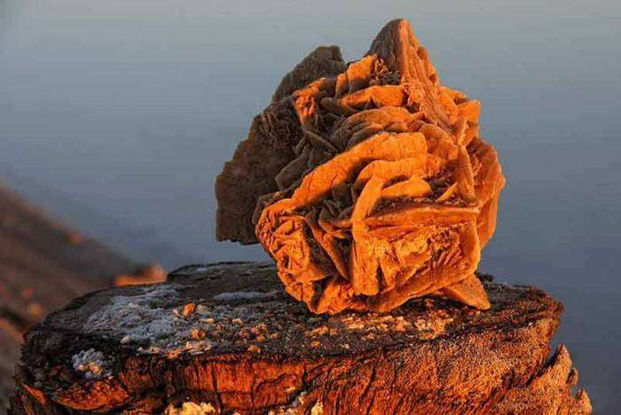 Экзотический сувенир – кристалл «роза пустыни» (11 фото)